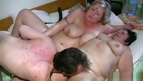 Fat Granny Having Lesbian Making love
