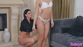 Mature pornstars having some naughty fun. India Summer, Emily Willis